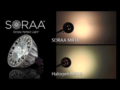SORAA LED MR16 Full Spectrum Light Bulb Overview & Comparison
