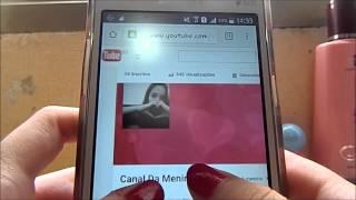 Como colocar a foto de capa no seu canal pelo celular