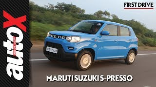 Maruti Suzuki S-Presso Review: First Drive | autoX