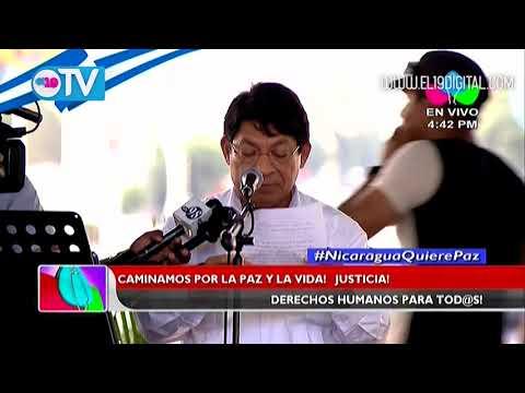 Nota de prensa del Gobierno de Reconciliación y Unidad Nacional
