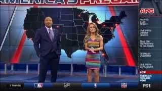 Molly McGrath Tight Body and Legs (Fox Sports 1)