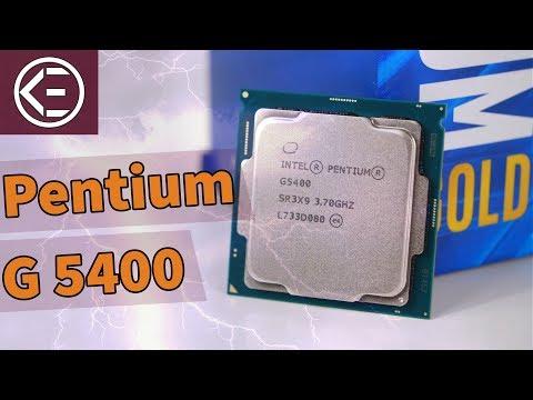 Ist INTELS NEUER 60 EURO PROZESSOR GUT? Pentium Gold G5400 Review