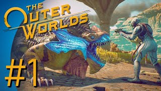 The Outer Worlds Part 1 - KIDNAPPED!