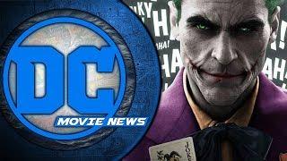 Joaquin is Joker! First look at Shazam! Birds of Prey Soon? - DC Movie News
