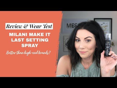 Make It Last Matte Charcoal Setting Spray by Milani #6