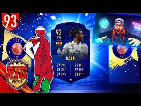 OMG YES I GOT TOTY BALE!! - FIFA 19 Ultimate Team RTG #92