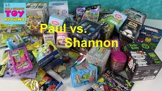 Paul Vs. Shannon Blind Bag Picks | Shopkins MLP Fashems | PSToyReviews