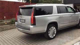 2018 cadillac platinum. plain 2018 starting v8 cadillac escalade esv platinum 62 litre ls7 parking in  small garage 5 to 2018 cadillac platinum