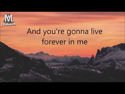 John Mayer - You're Gonna Live Forever In Me (Lyrics)