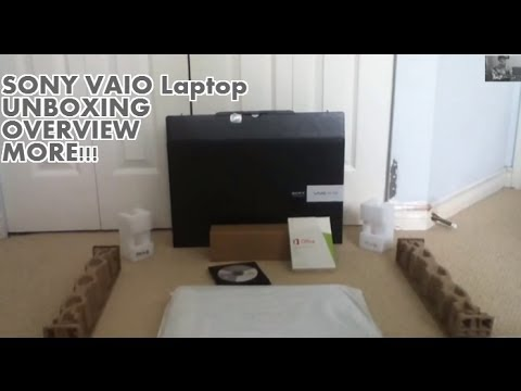 SONY VAIO Fit 15E Intel Core i5-3337U Laptop UNBOXING/OVERVIEW 2013