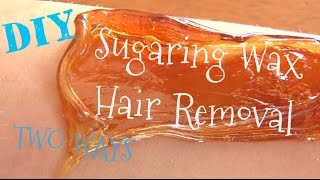 DIY ♥ Sugaring Wax Recipe And Tutorial