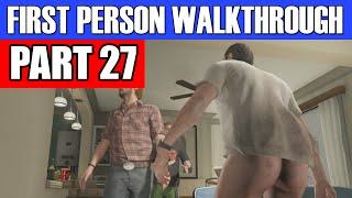GTA 5 First Person Gameplay Walkthrough Part 27 - THAT GOOD STUFF! | GTA 5 First Person