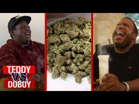 Smoking Weed Challenge | Teddy vs. DoBoy