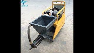 Cement Mortar Wall Spraying Machine