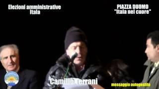 preview picture of video 'Itala. Camillo Terrani . Lista Itala nel cuore. Piazza Duomo - 21 aprile 2012'