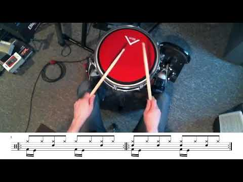 Some basic double bass drum exercises!