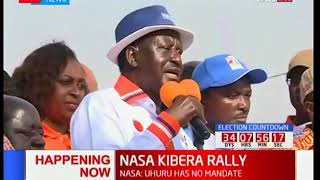 Raila Odinga demands removal of all IEBC Commissioners that were involved in electoral malpractice