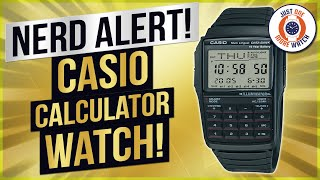 """Nerd Alert!! Review and """"How To"""" - Casio Calculator Watch - DBC32"""