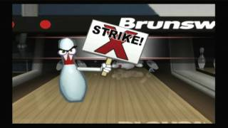 Classic Game Room HD - BRUNSWICK PRO BOWLING Wii review