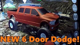 Gigabit Off-Road | 6 DOOR DODGE CONFIRMED! plus NEW ROCK CRAWLING MAP GAMEPLAY!