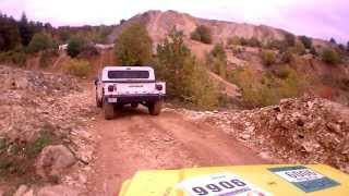 preview picture of video 'Langenaltheim Offroadpark Hummer Verfolgung I'