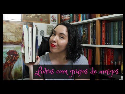 Livros com grupos de amigos | Raíssa Baldoni