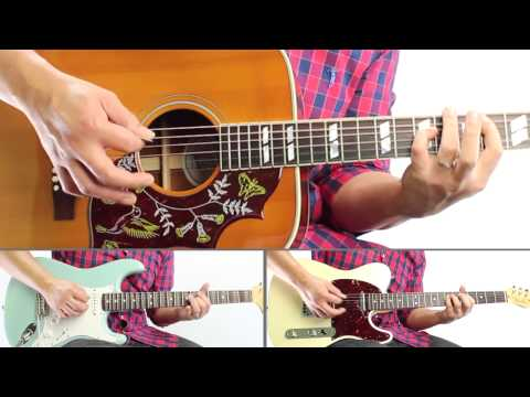 CNBLUE (씨엔블루) - Control (Guitar Playthrough Cover By Guitar Junkie TV) HD