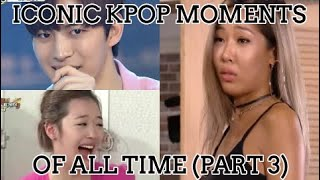 The most iconic kpop videos of all time (part 3)! (funny/legendary moments)