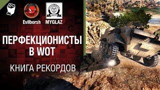 Перфекционисты в WOT - Книга рекордов №11 - от Evilborsh и MYGLAZ [World of Tanks]