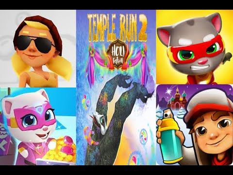 Download Talking Tom Hero Dash New Update Temple Run And Angry Gr
