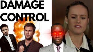 Avengers: End Game Cast FEUD! Brie Larson Damage Control