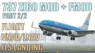 X Plane 11 737 ZIBO MOD + FMOD