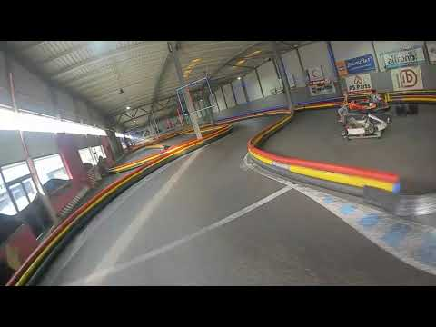 Geelang Titan 120x DJI Digital flies at Indoor Karting Famalicão