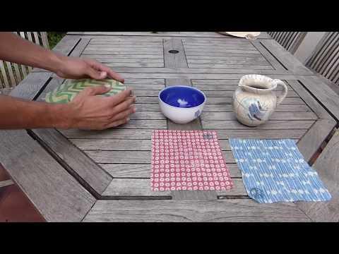 Tutoriel GreenCling: Couvrir un bol, une carafe d'eau et une casserole!