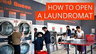 How to open a laundromat ✅