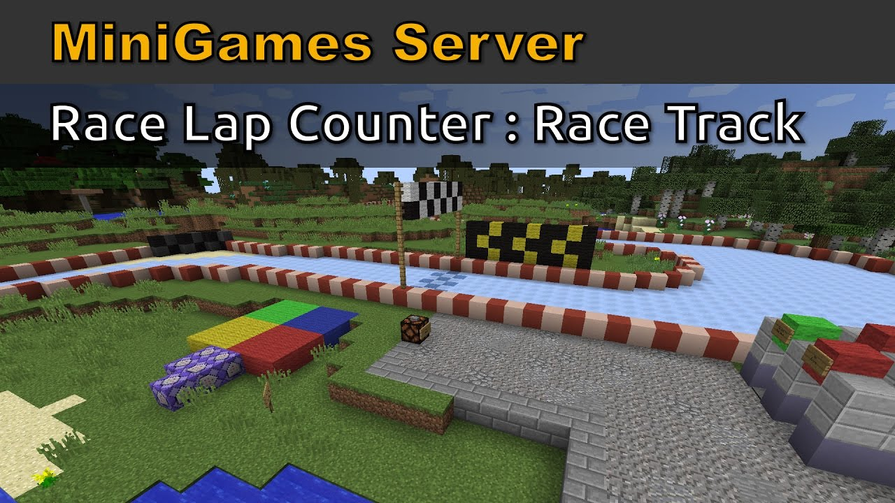 Minecraft - Race Lap Counter