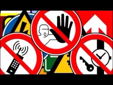 Las señales de seguridad