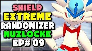 Delta Cinderace in the WILD AREA? - Pokemon Sword and Shield Extreme Randomizer Nuzlocke Episode 9