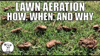 How to Aerate a Lawn - How, Why, and When to Aerate - Lawn Aeration