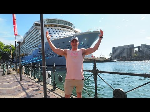 ALL ABOARD THE WORLD'S BIGGEST CRUISE SHIP | VLOG 1