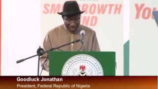 President Jonathan Launches You Win4