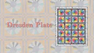 Quick Technique Dresden Plate