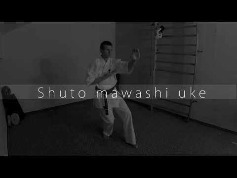 Shuto Mawashi Uke - Kyokushin Blue Belt 7th kyu block