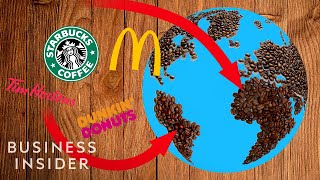 Animated Map Shows Where Your Favorite Coffee Actually Comes From