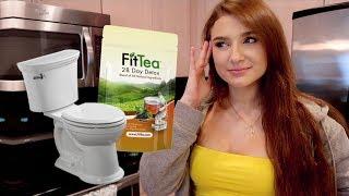 fit tea unboxing/ first impressions/ review | detox tea saga pt.1 | NO BS fittea