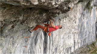 Steve McClure and Buster Martin climb 8c+ at Malham by teamBMC