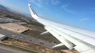 preview picture of video 'Ryanair takeoff in Alicante, Spain'