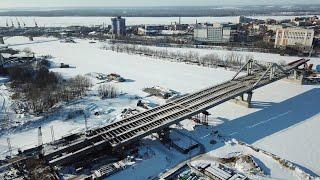 Самара Фрунзенский мост 1.03.2018