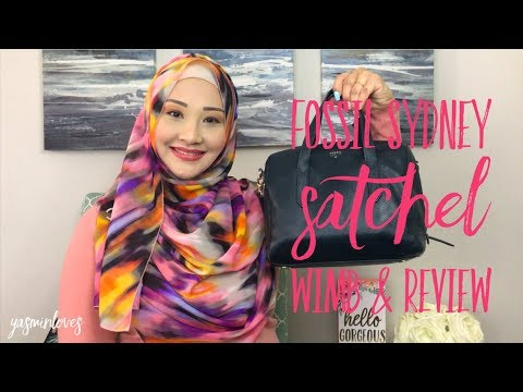 Fossil Sydney Satchel | WIMB & Review
