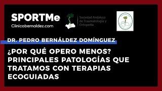 ¿Por qué opero menos? Principales patologías con Terapias Ecoguiadas - Dr Pedro Bernáldez Domínguez